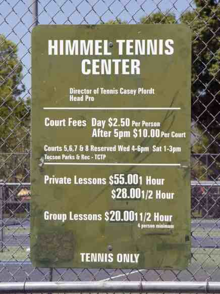 Himmel Park Tennis Center
