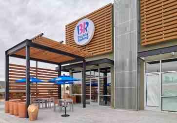 baskin robbins ice cream shop