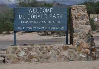 Welcome McDonald Park Tucson
