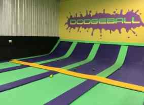 dodgeball trampoline Get Air Tucson
