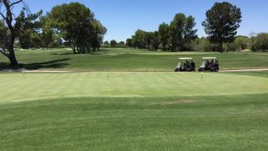 golf carts course Tucson Country Club