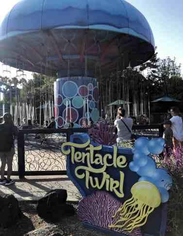 Tentacle Twirl SeaWorld San Diego 1