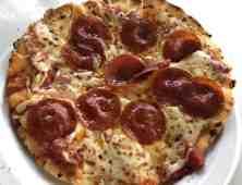 pepperoni pizza Mama Stellas Kitchen SeaWorld San Diego