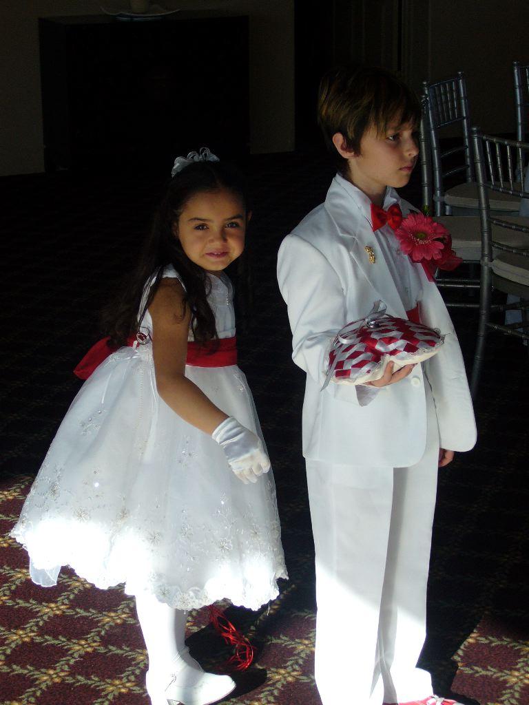 Ring Bearer Amp Flower Girl My Tucson Wedding