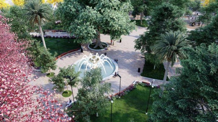 Las imágenes del plan de renovación de la Plaza Independencia