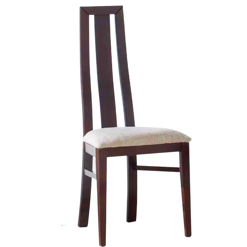 Silla modelo Texas con asiento pretapizado y respaldo de