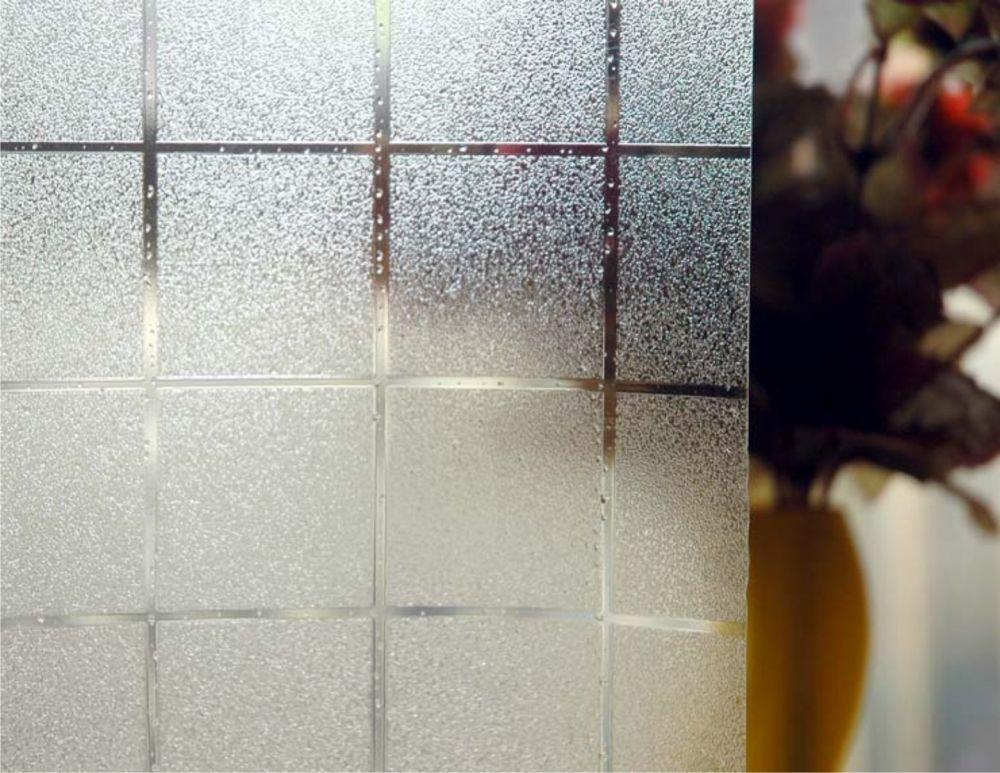 Vinilo glass efecto cuadros pequeos 3 cm  Vinilo Glass