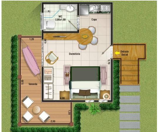 10 modelos de casas de veraneio Plantas Projetos