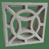 Elemento Vazado de Concreto Composê