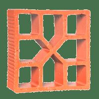 Elemento Vazado Cerâmico Reto Xis