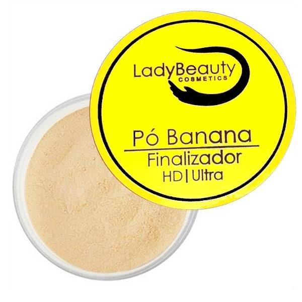 Pó Banana Facial da Lady Beauty