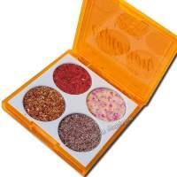 Paleta de Sombra Glitter Explosion Luisance L6060C aberto