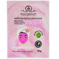 mascara esfoliante argila rosa