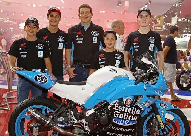 Honda e Estrella Galicia 0,0 apostam na formação de pilotos para gerar novos campeões da motovelocidade