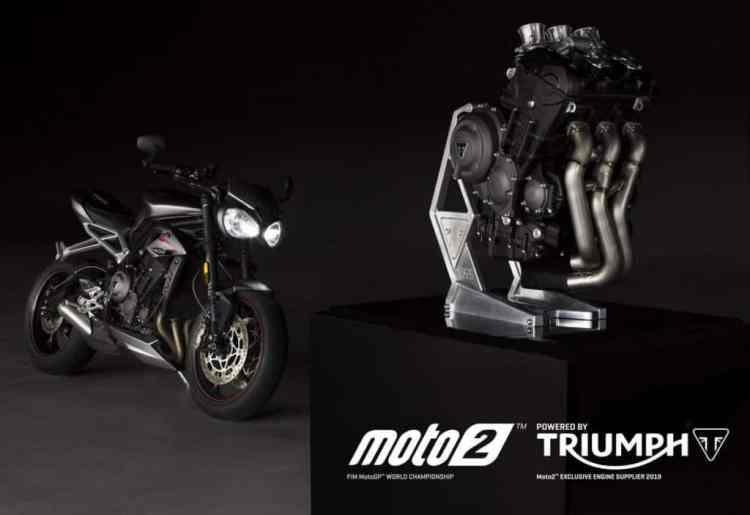 Triumph lança no Brasil a nova geração do modelo Street Triple