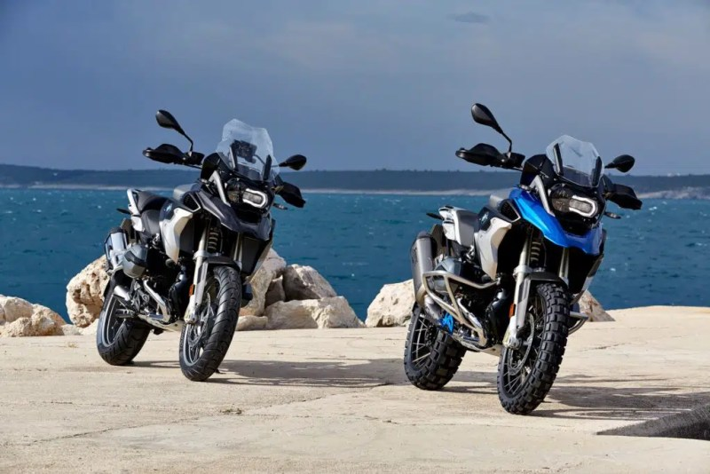 moto para viagens - BMW R 1200 GS 2017 (Foto: Divulgação)