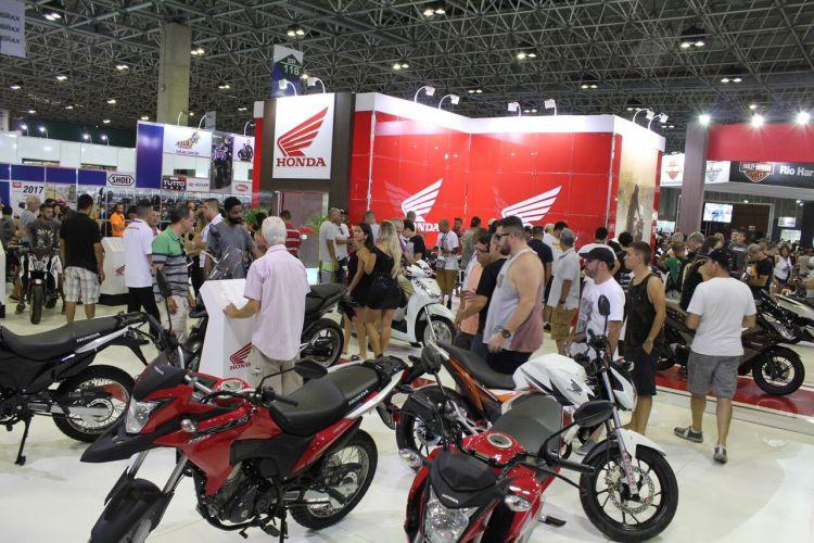O Salão Moto Brasil 2017 gerou mais de R$ 10 milhões em volume de negócios.