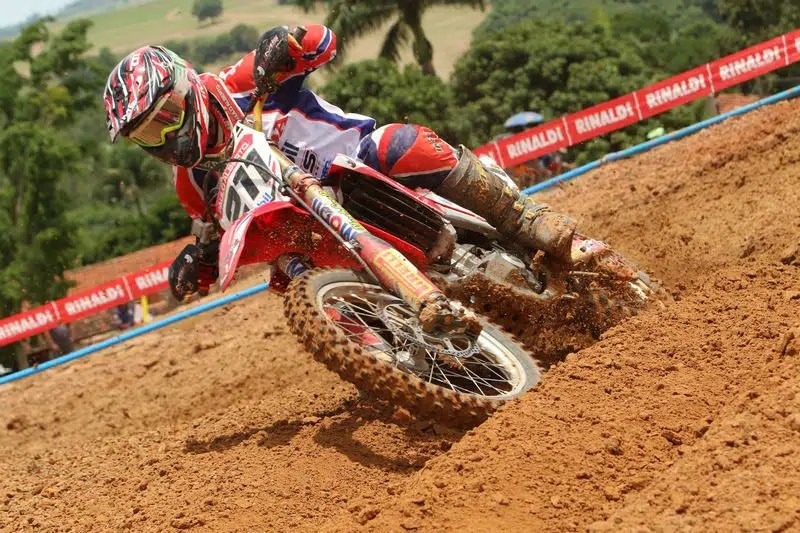 Paulo Alberto fica com o vice campeonato do Brasileiro de Motocross - Foto: Vipcomm