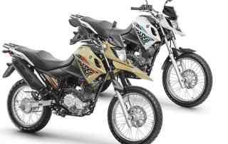 Yamaha XTZ 150 Crosser 2018: duas versões