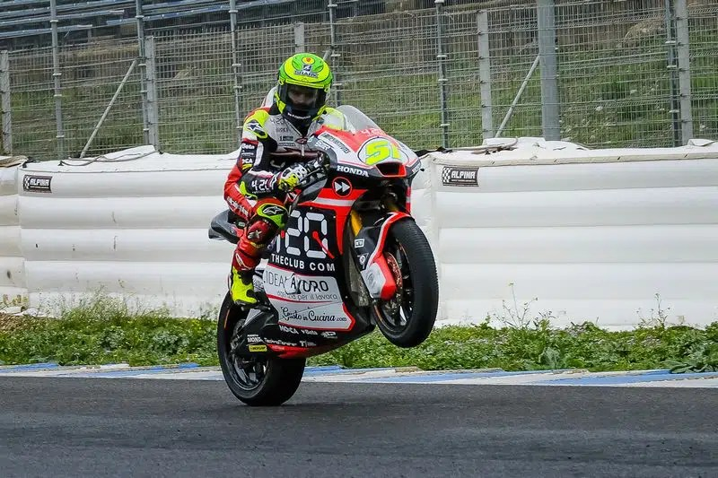 Eric Granado na Forward Racing em Jerez - Foto: Mirco Lazzari