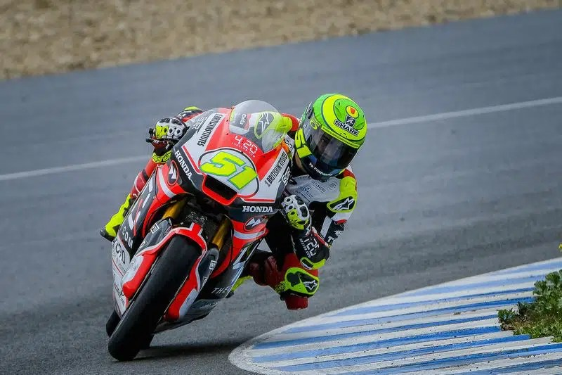 Eric Granado finaliza testes de inverno na Moto2