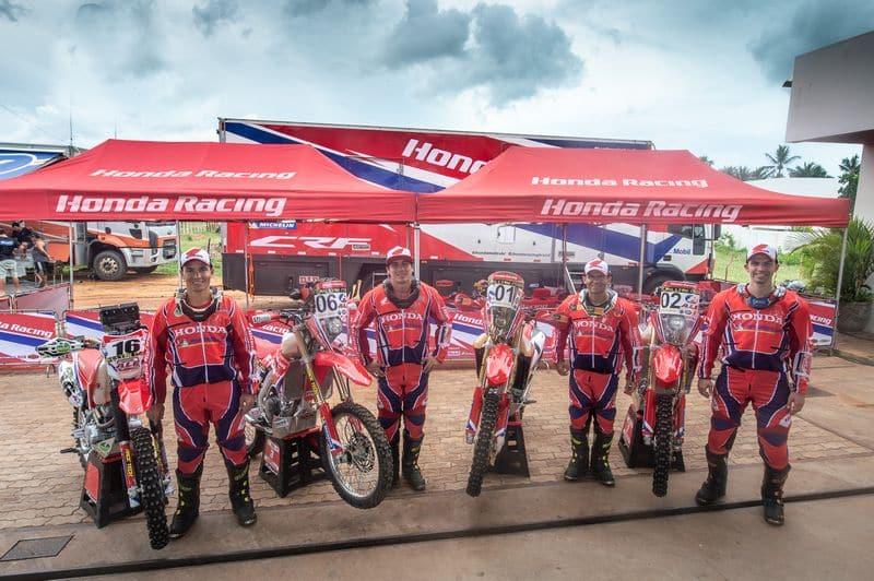 Equipe Honda Racing no Rally RN 1500 2018 - Foto: Fábio Davini/DFotos/Mundo Press