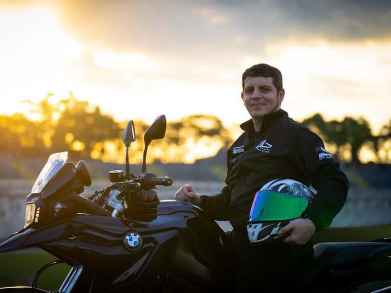 Alex Barros e a F 750