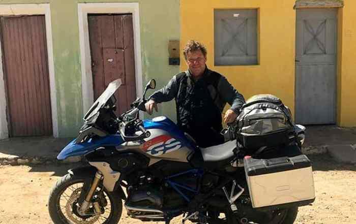 R 1200 GS e chef Claude Troisgros