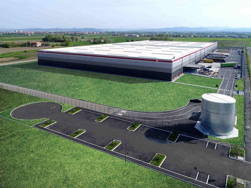 O novo centro logístico na Itália coloca à disposição acessórios e peças originais de reposição para todos os modelos de motocicletas Ducati.