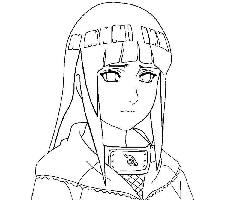 Desenho Hinata