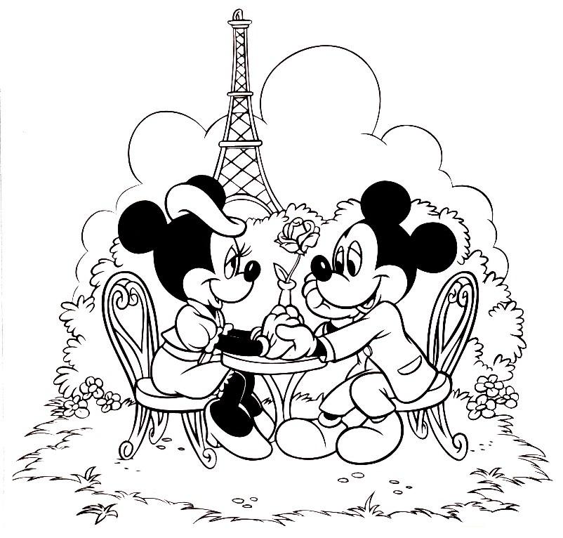 Desenho Da Minnie