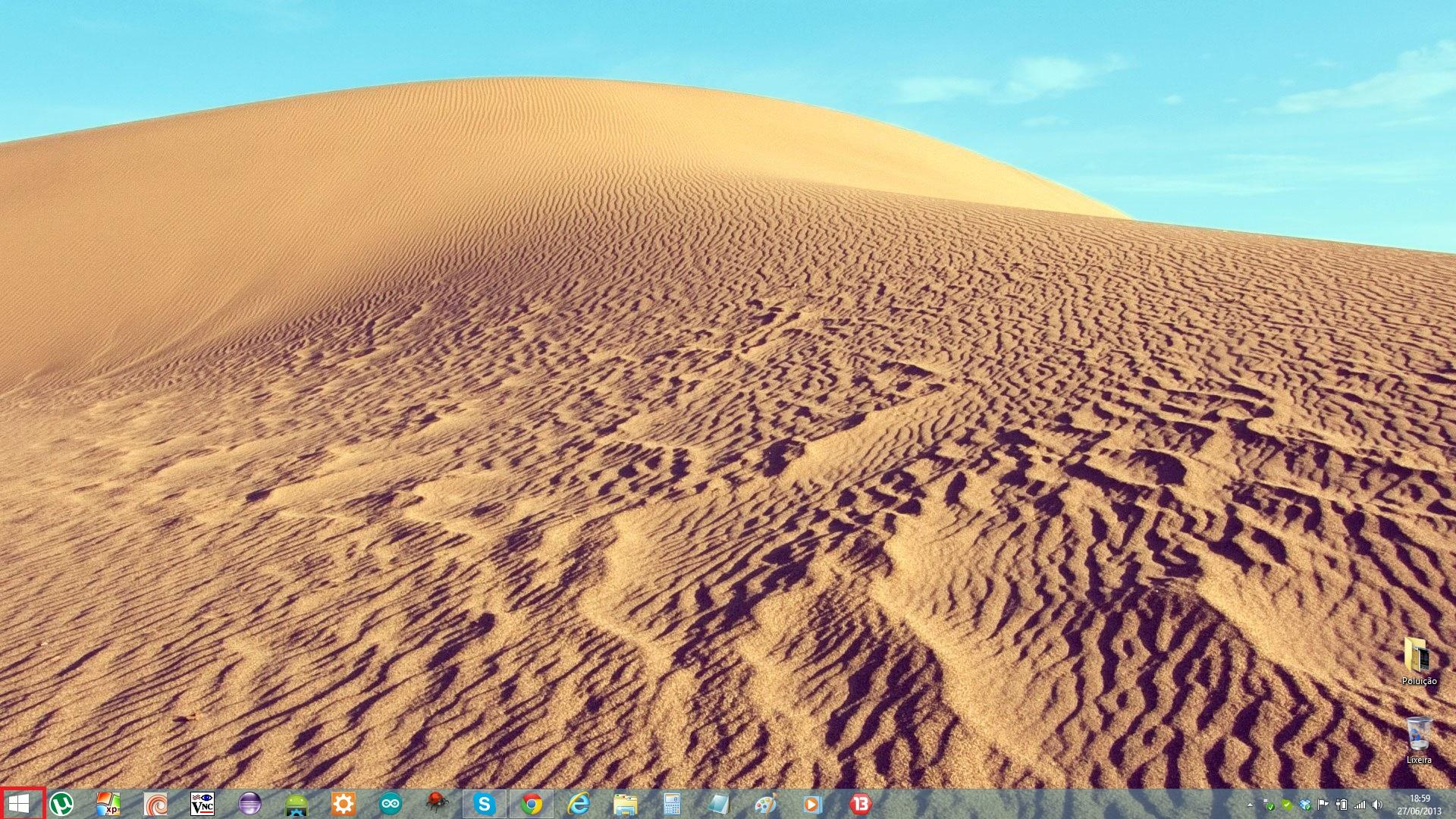 Botão Iniciar Windows 8.1