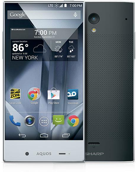 Sharp-Aquos-Crystal-black-phone