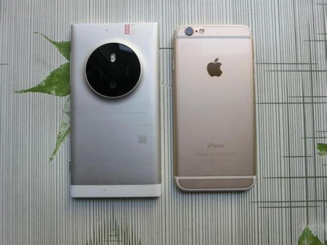 Lumia 1030-design