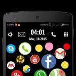 Bubble-Screenlock-Launcher-3