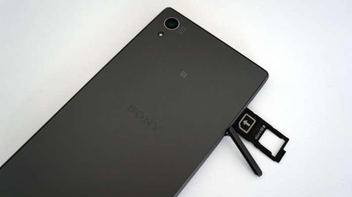 Sony Z5-slot