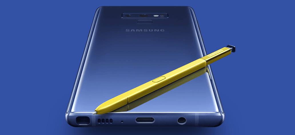 Galaxy Note 9 lançamento Brasil