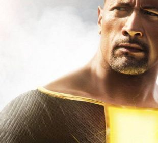 Dwayne Johnson Adão Negro