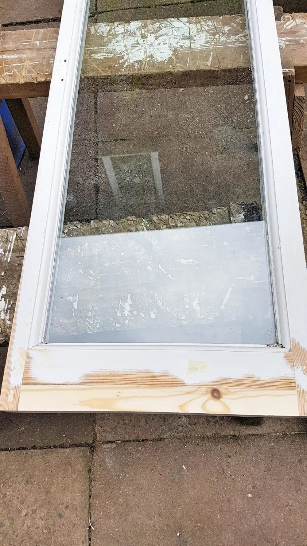 Shotton Hall Panelling Window Light Repair