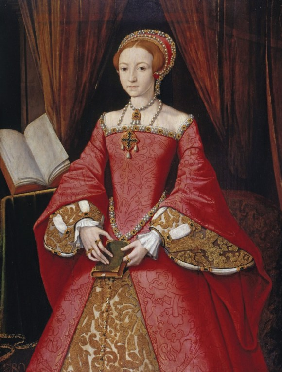 Elizabeth c. age 13 NPG, London