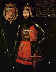 John of Gaunt - son of Edward III
