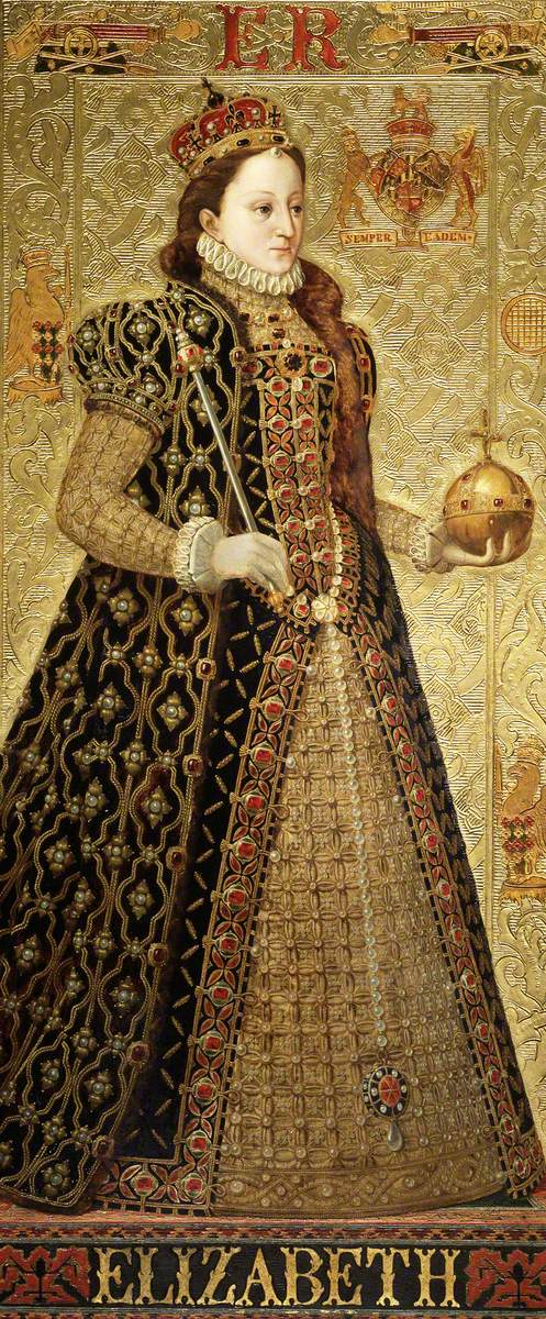 Burchett, Richard; Elizabeth (Elizabeth I); Parliamentary Art Collection; http://www.artuk.org/artworks/elizabeth-elizabeth-i-213756