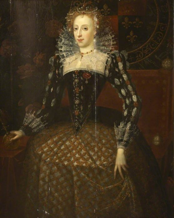 Zuccari, Taddeo; Elizabeth I (1533-1603); Plymouth City Council: Museum and Art Gallery; http://www.artuk.org/artworks/elizabeth-i-15331603-148253