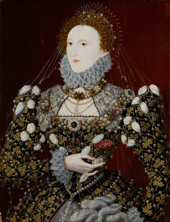 associated with Nicholas Hilliard, oil on panel, circa 1575