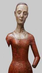 Catherine de Valois� wooden funeral effigy