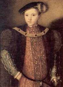 Portrait of Edward VI in 1547