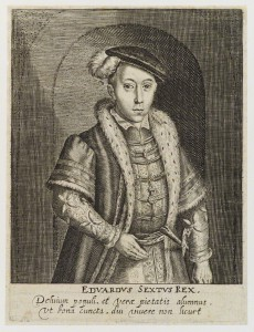 King Edward VI by Simon de Passe engraving, published 1620 6 1/4 in. x 4 3/4 in. (159 mm x 122 mm) paper size Given by Sir Herbert Henry Raphael, 1st Bt, 1916 Reference Collection NPG D19787