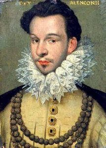 Francis Duke of Anjou by Hilliard 1577