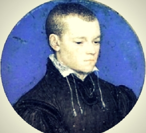 Portrait by Hans Holbein believed to be Gregory Cromwell