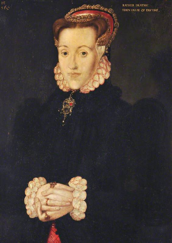 Possible portrait of Anne Askew